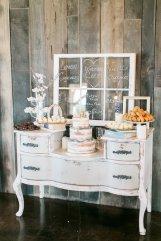 Antique Vanity for Dessert Bar